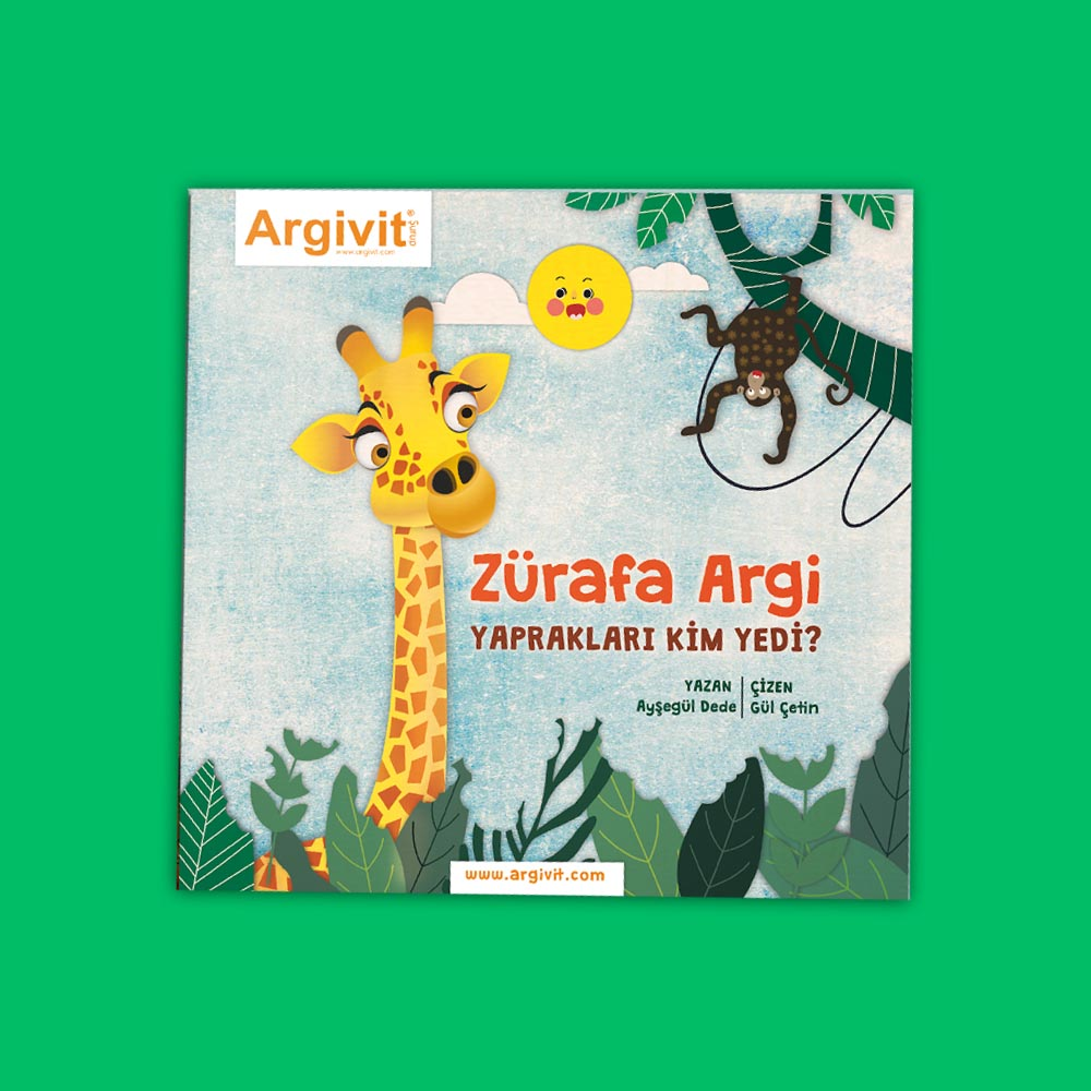 Zürafa Argi, Yaprakları Kim Yedi?