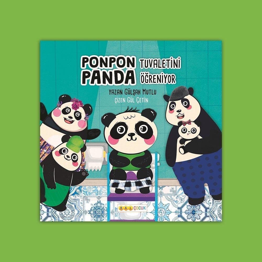 Ponpon Panda Tuvaletini Öğreniyor